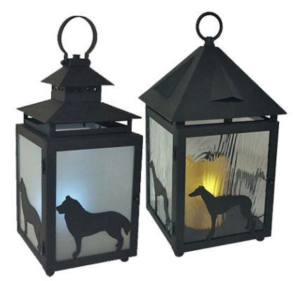 Abby Labby Custom Dog Lanterns