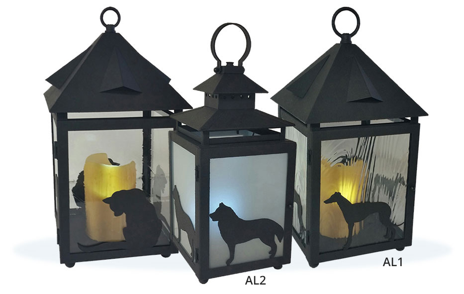 Abby Labby Lanterns, Custom Animal Lanterns